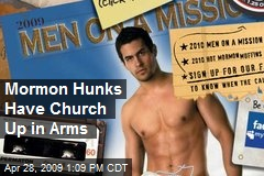 Mormon Hunks Have Church Up in Arms