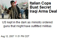 Italian Cops Bust Secret Iraqi Arms Deal