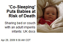 'Co-Sleeping' Puts Babies at Risk of Death