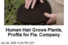 Human Hair Grows Plants, Profits for Fla. Company