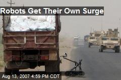 Robots Get Their Own Surge