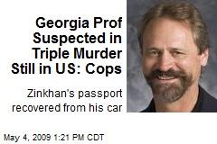 Georgia Prof Suspected in Triple Murder Still in US: Cops