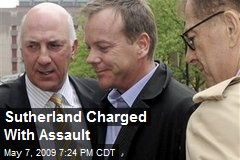 Sutherland Charged With Assault