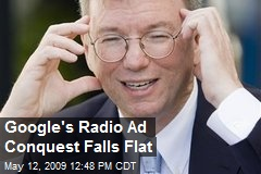Google's Radio Ad Conquest Falls Flat