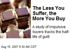 The Less You Suffer, the More You Buy