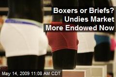 Boxers or Briefs? Undies Market More Endowed Now