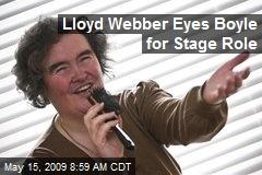 Lloyd Webber Eyes Boyle for Stage Role
