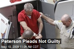Peterson Pleads Not Guilty