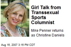 Transsexual sports writer christine