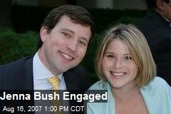 Jenna Bush Engaged
