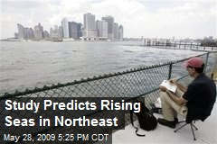 Study Predicts Rising Seas in Northeast