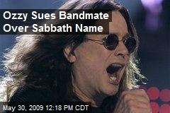 Ozzy Sues Bandmate Over Sabbath Name