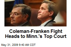 Coleman-Franken Fight Heads to Minn.'s Top Court