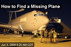 How to Find a Missing Plane