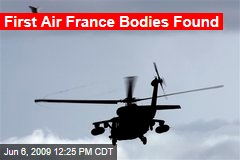 First Air France Bodies Found
