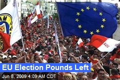 EU Election Pounds Left