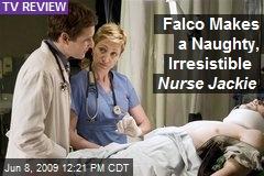 Falco Makes a Naughty, Irresistible Nurse Jackie