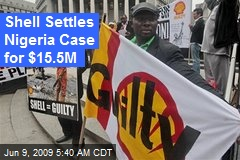Shell Settles Nigeria Case for $15.5M