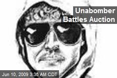 Unabomber Battles Auction