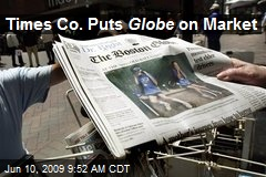 Times Co. Puts Globe on Market