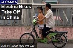 Electric Bikes Take Off in China