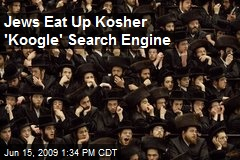 Jews Eat Up Kosher 'Koogle' Search Engine