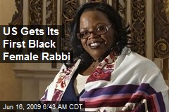 US Gets Its First Black Female Rabbi