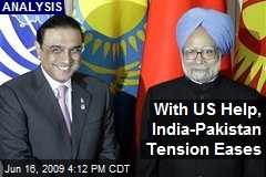 With US Help, India-Pakistan Tension Eases