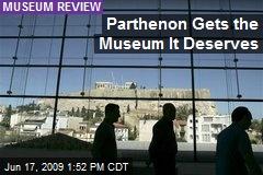 Parthenon Gets the Museum It Deserves