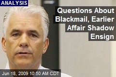 Questions About Blackmail, Earlier Affair Shadow Ensign