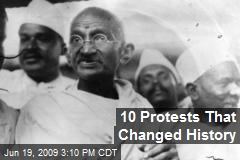 10 Protests That Changed History