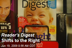 Reader's Digest Shifts to the Right