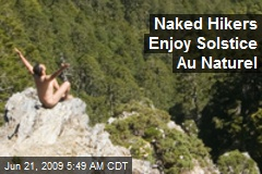 Naked Hikers Enjoy Solstice Au Naturel