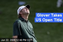Glover Takes US Open Title