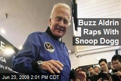 Buzz Aldrin Raps With Snoop Dogg