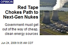 Red Tape Chokes Path to Next-Gen Nukes