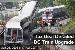 Tax Deal Derailed DC Train Upgrade
