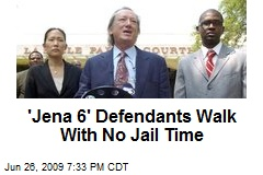 'Jena 6' Defendants Walk With No Jail Time