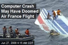 Computer Crash May Have Doomed Air France Flight