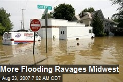 More Flooding Ravages Midwest