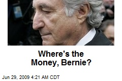 Where's the Money, Bernie?