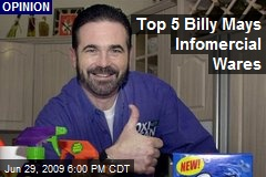 Top 5 Billy Mays Infomercial Wares