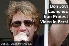 Bon Jovi Launches Iran Protest Video in Farsi