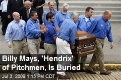 Billy Mays, 'Hendrix' of Pitchmen, Is Buried