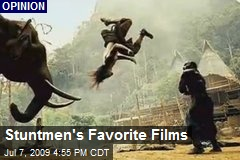 Stuntmen's Favorite Films