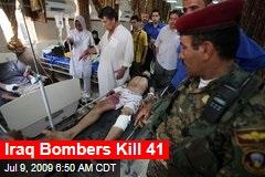 Iraq Bombers Kill 41