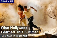 What Hollywood Learned This Summer