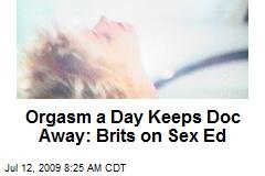 Orgasm a Day Keeps Doc Away: Brits on Sex Ed