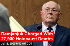 Demjanjuk Charged With 27,900 Holocaust Deaths
