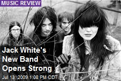 Jack White's New Band Opens Strong